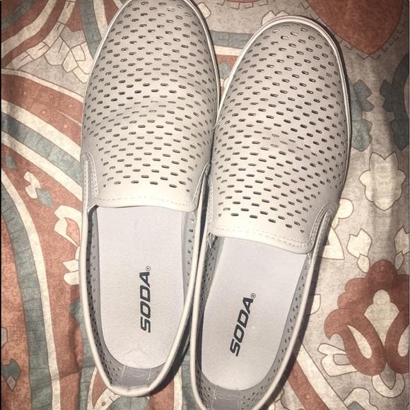 soda leopard slip on shoes
